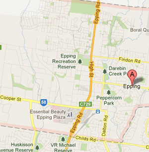 Epping Map
