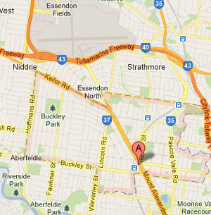 Essendon Map