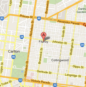 Fitzroy Map